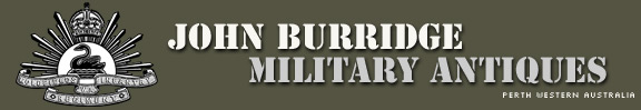 John Burridge Military Antiques